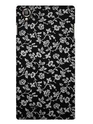 Snooky Digital Print Hard Back Case Cover For Lava Iris 800 - Black