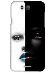 Snooky Digital Print Hard Back Case Cover For InFocus M530 - White