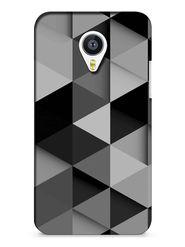 Snooky Digital Print Hard Back Case Cover For Meizu MX4 - Grey