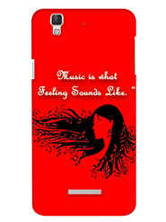 Snooky Digital Print Hard Back Case Cover For Coolpad Dazen F2 - Red