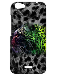 Snooky Digital Print Hard Back Case Cover For Micromax Bolt Q338 - Grey