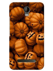 Snooky Digital Print Hard Back Case Cover For Micromax Bolt Q335 - Brown