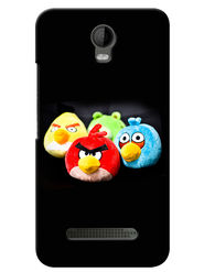 Snooky Digital Print Hard Back Case Cover For Micromax Bolt Q335 - Black