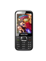 ADCOM Cinema X28 Dual SIM Mobile Phone - Black