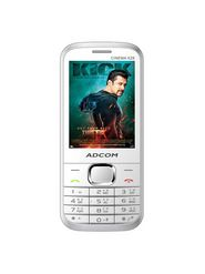 ADCOM Cinema X28 Dual SIM Mobile Phone - White