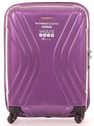 American Tourister Trolley Bag - Purple - 12434375