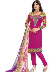 Khushali Fashion Cotton Self Dress Material -Bgssnr44010