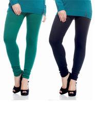 Combo of 2 Arisha Woolen Solid Legging -CMBB14