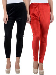 Combo of 2 Arisha Woolen Solid Legging -CMBB23