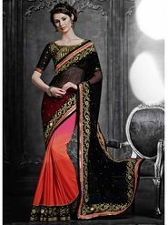 Viva N Diva Chiffon Embroidered Saree -Dramatic-5102