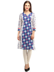Branded Cotton Printed Kurtis -Ewsk0615-1348