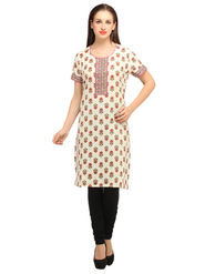 Branded Cotton Printed Kurtis -Ewsk0615-1352