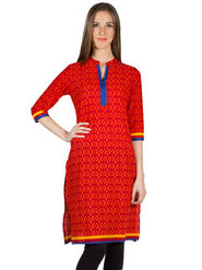 Branded Cotton Printed Kurtis -Ewsk0715-1416