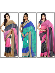 Florence Printed Chiffon Sarees - Pick any One