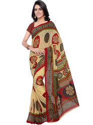 Florence Printed Faux Georgette Sarees -FL-11245