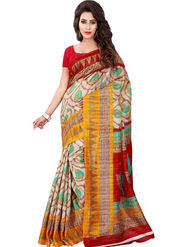 Florence Printed Bhagalpuri Silk Sarees FL-11679