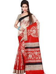 Florence Printed Bhagalpuri Silk Sarees FL-11708