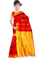 South Silk Handloom Saree -Gkss 1018