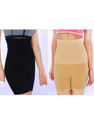 Get in Shape Coloured Look Slim Garment for Women - Pack of 2