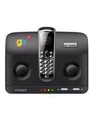 Go Hello Micro-01 World's Smallest Phone with Docking Station - Black