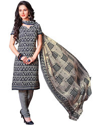 Khushali Fashion Crepe Printed Unstitched Dress Material -HNYVR1009