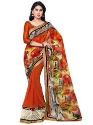Indian Women Georgette Saree -IC40402