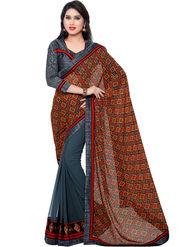 Indian Women Georgette Saree -IC40416