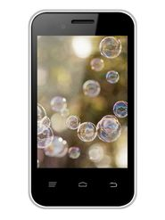 Intex Cloud X15 Plus 3.5 Inch 4.4.2 Android KitKat - White & Grey