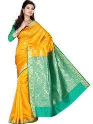 Ishin Art Silk Embroidered Saree - Multicolour_SNGM-1713