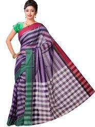 Ishin Cotton Printed Saree - Multicolor - SNGM-2447