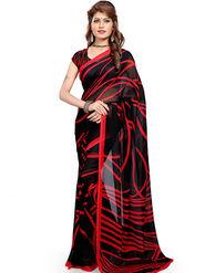 Arisha Georgette Printed Saree -Khgjsfar23