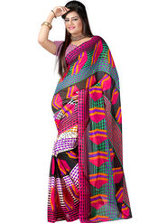 Arisha Georgette Printed Saree -Khgsstar104