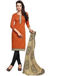 Khushali Fashion Chanderi Self Unstitched Dress Material -KTRL4005A
