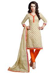Khushali Fashion Chanderi Self Unstitched Dress Material -KTRL4007B