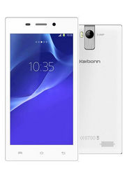 Karbonn A6 Turbo- Silver 4.5 Inch Android Kitkat, 4 GB Internal Memory, 5 MP Camera With Dual Flash, Dual Sim Mobile - White