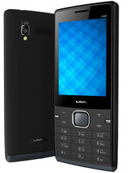 Lava Arc Grand Dual Sim Phone - Black & Grey
