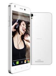 Lava Iris X1 Beats 5-Inch Android Kitkat,Quad Core processor with 1 GB RAM snd 8 GB  ROM - White & Silver