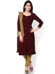 Florence Printed Cotton Dress Material -SB-3184