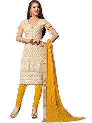 Khushali Fashion Super Net Embroidered Dress Material -Sgldrmg21002