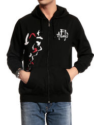 Brohood Cotton Blend Full Sleeves Casual Sweatshirt For Men - Black_SKH33007