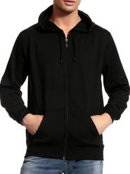 Brohood Cotton Blend Full Sleeves Casual Sweatshirt For Men - Black_SKH33018