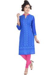 Shop Rajasthan Printed Rayon Straight Kurti -Sre2459