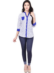 Shop Rajasthan Embroidered Cotton Tops -Sre2570