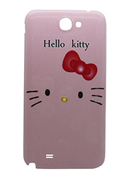 Snooky Designer Back Cover for Samsung Galaxy Note2 N7100 - Pink