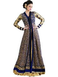 Thankar Semi Stitched  Net Embroidery Dress Material Tas273-4605B