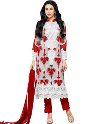 Thankar Semi Stitched  Georgette Embroidery Dress Material Tas307-76014