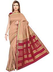 Triveni's Art Silk Zari Worked Saree -TSMRCC3010