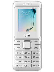 UNI N3300 1.8 Inch Triple Sim Mobile - White