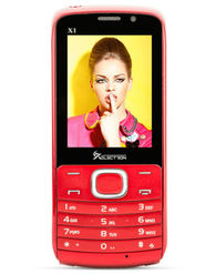 Xelectron X1 (3G Mobile:Dual Sim) - Red