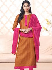Viva N Diva Bhagalpuri Silk Embellished Unstitched Suits Utsav-5006